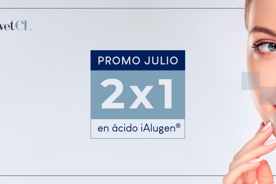 Ácido hialurónico Ialugen PROMO 2×1 en julio