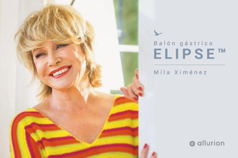 Mila Ximenez se pone el Balón Gástrico Elipse de Allurion