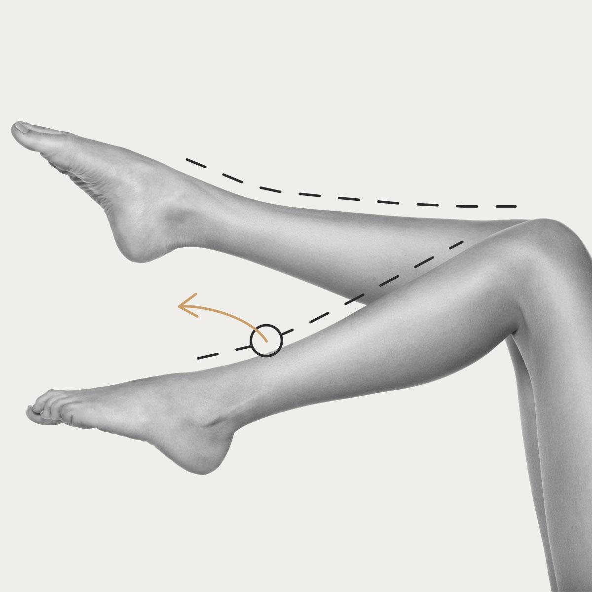 Medias piernas