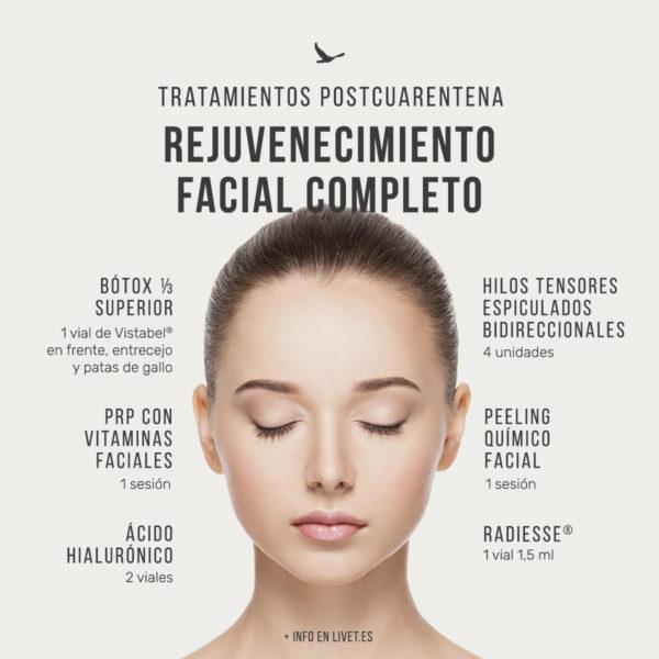 Pack Rejuvenecimiento facial completo
