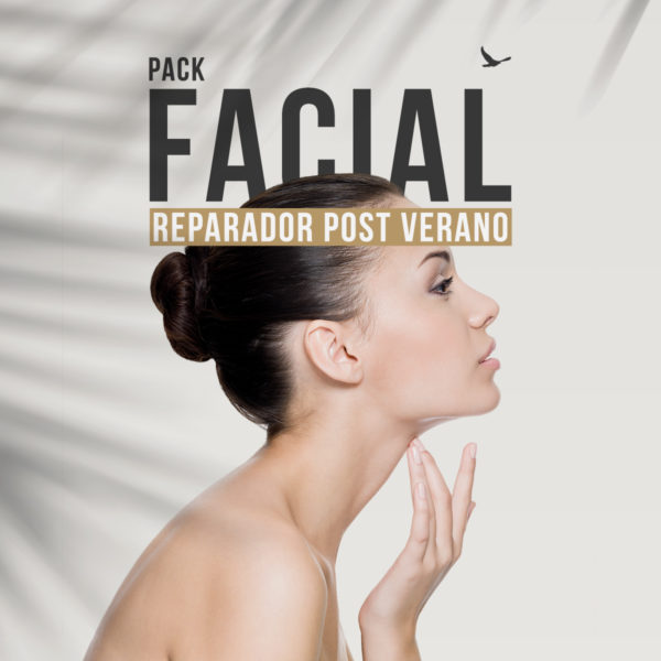Pack facial reparador post verano